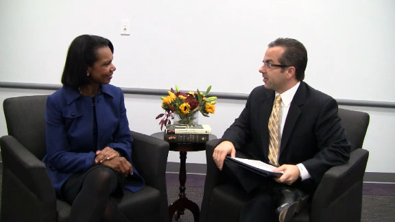 A Conversation with Condoleezza Rice