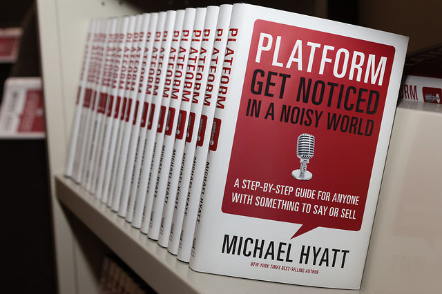 Michael Hyatt's Advice on How to Get Noticed in a Noisy World