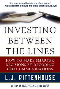 COVER - Investing Between the Lines