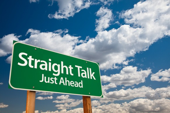 bigstock-Straight-Talk-Green-Road-Sign-7789225