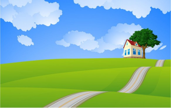 bigstock-Sweet-home-Vector--15404243