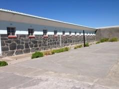 Prison Yard Robben Island (C) Skip Prichard