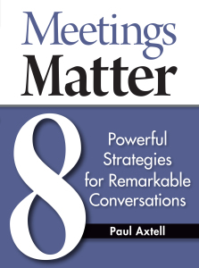 Meetings Matter Cover