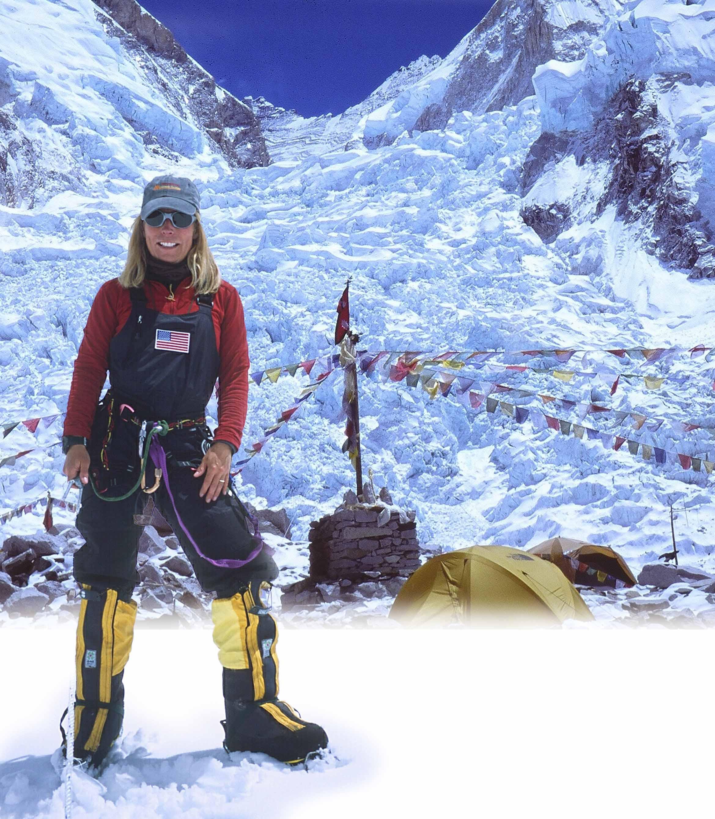 Everest Base Camp Sue