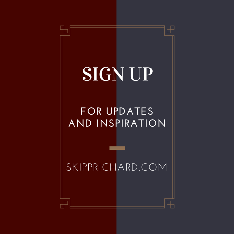 Sign up for Updates and Inspiration