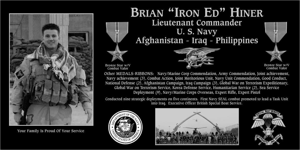 """Brian """"Iron Ed"""" Hiner"""