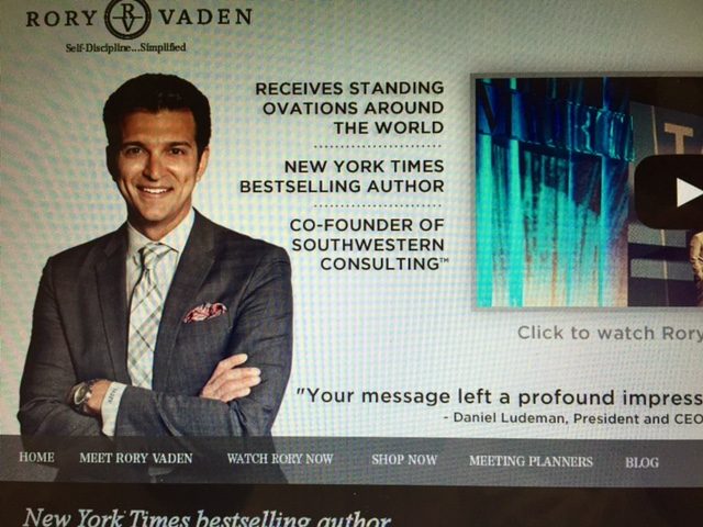 Rory Vaden Blog
