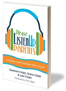 Please Listen Up Parents book cover