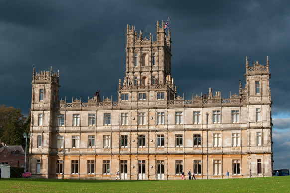 Highclere Castle of Downton Abbey