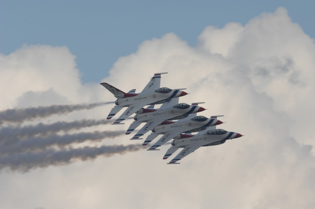 Courtesy of the USAF Thunderbirds