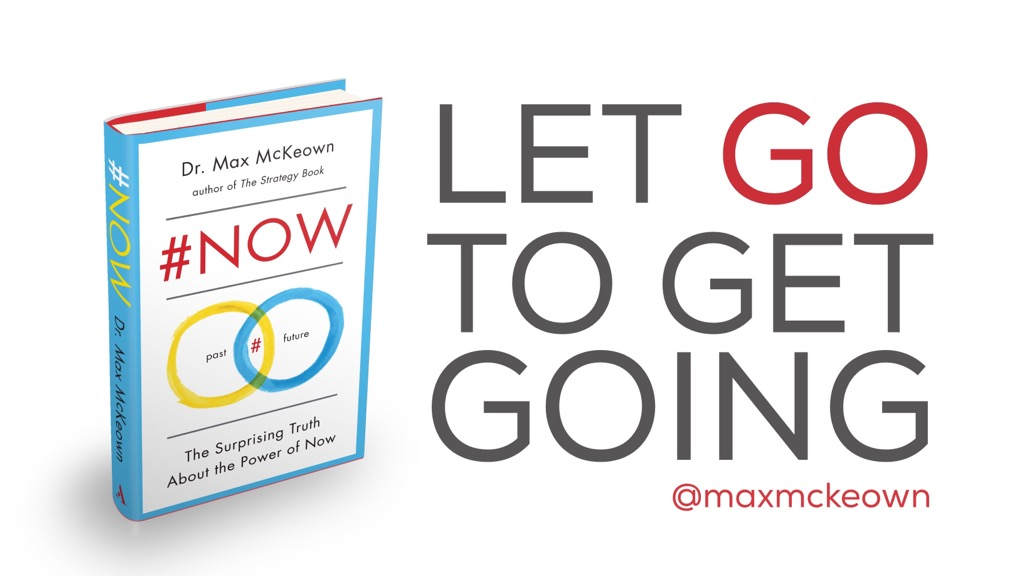 Let go to get going