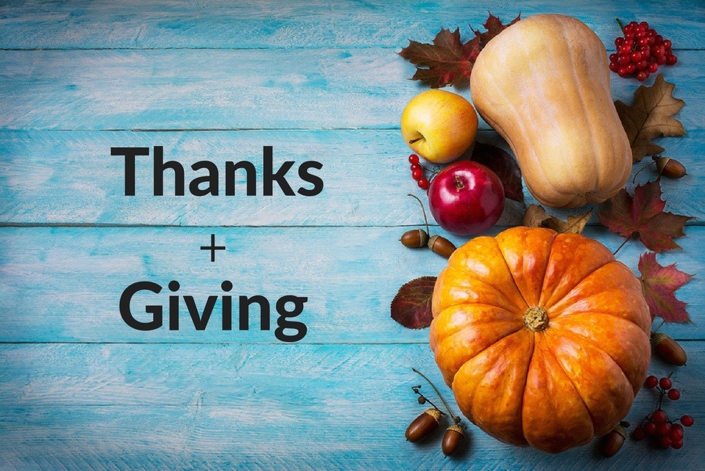 Change the Thanksgiving Equation: Thanks + Giving
