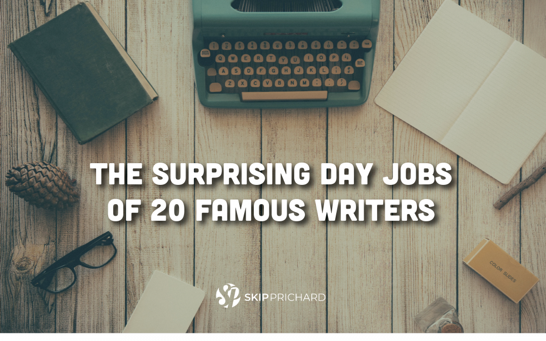 The Surprising Day Jobs of 20 Famous Writers