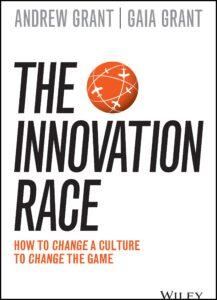 innovation race book jacket