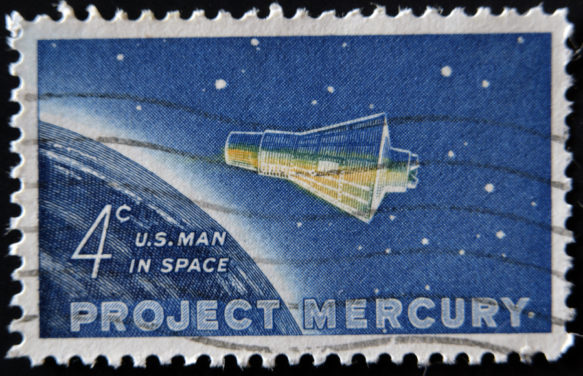 Project Mercury Friendship 7 capsule John Glenn
