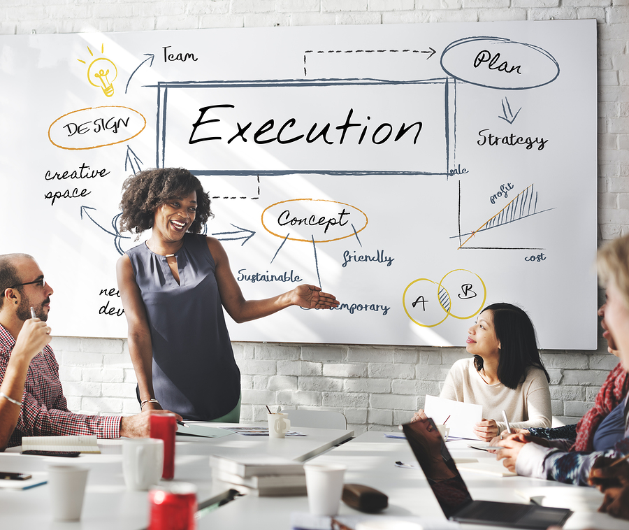 executed definition business
