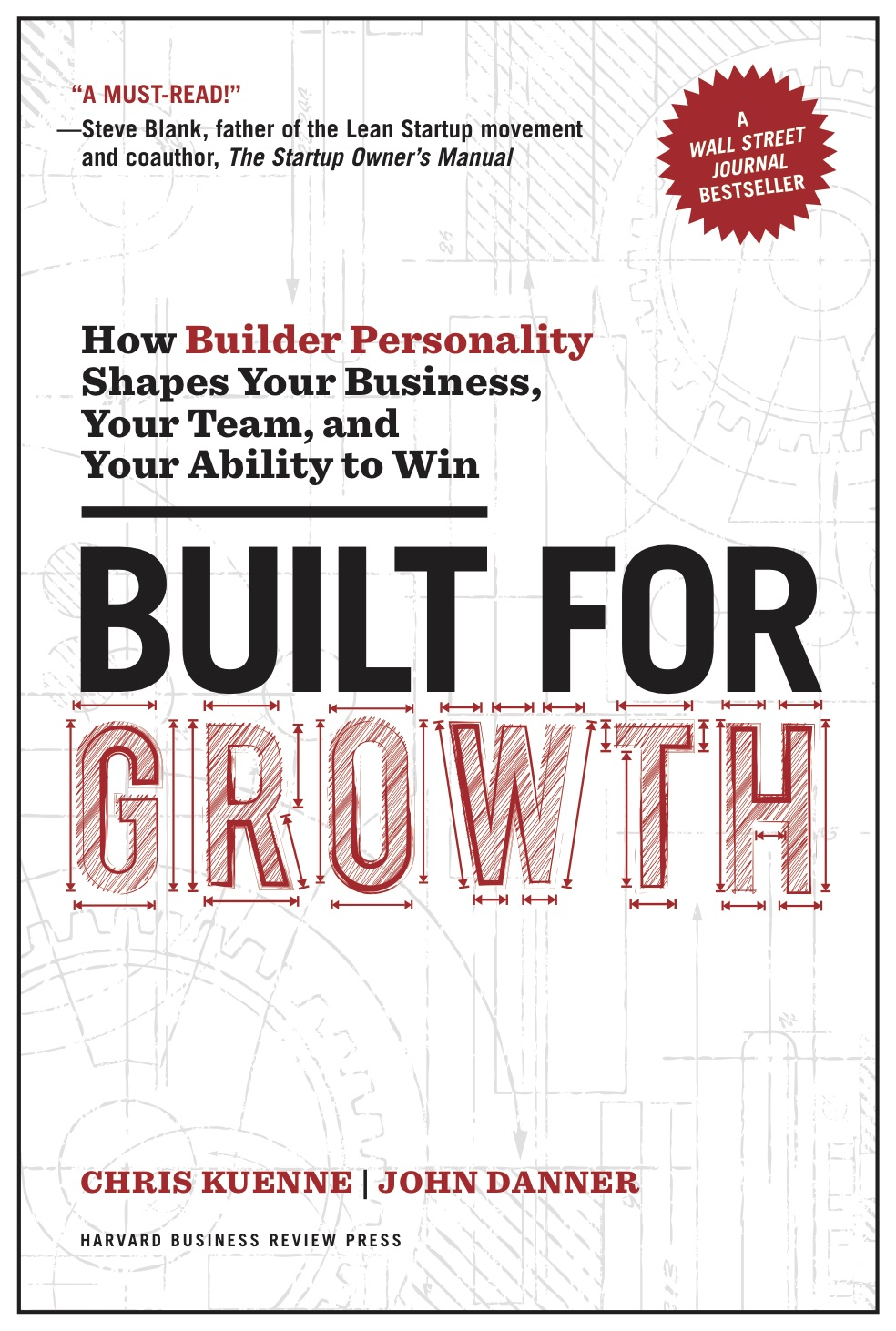 Built for Growth cover