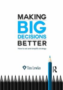 making big decisions better book jacket