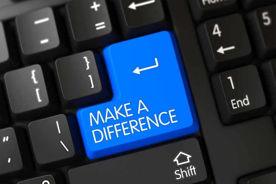 How to Manage to Make a Difference