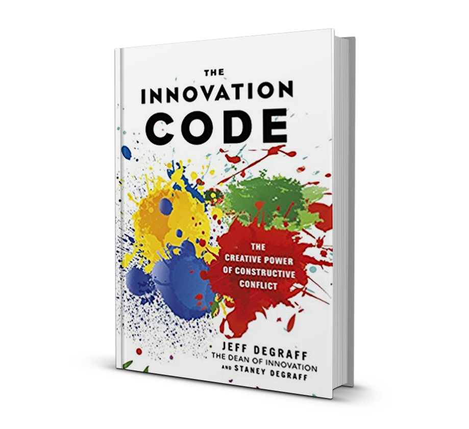 innovation code book cover