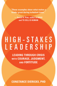 High-Stakes Leadership_Dierickx_Book Jacket