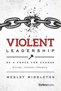 violent leadership book cover