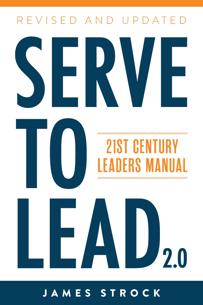 serve to lead book jacket cover