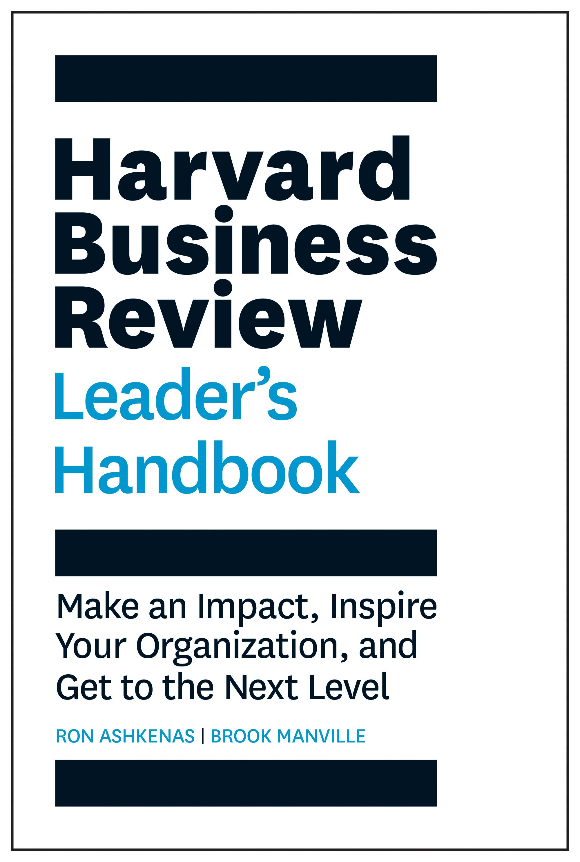 HBR Leaders Handbook