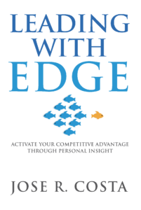 Leading With Edge Cover