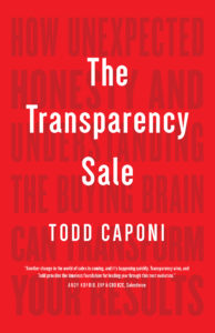 Transparency Sale book jacket