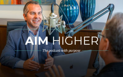 aim higher podcast announcement