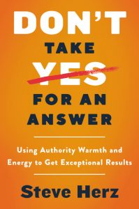 Don't Take Yes for an Answer jacket