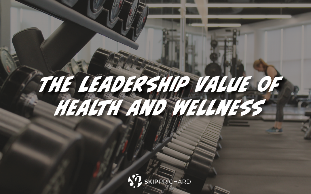 Aim Higher: The leadership value of health and wellness