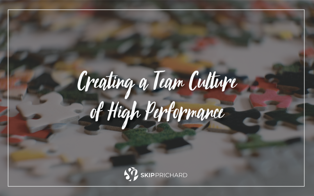Creating a Team Culture of High Performance