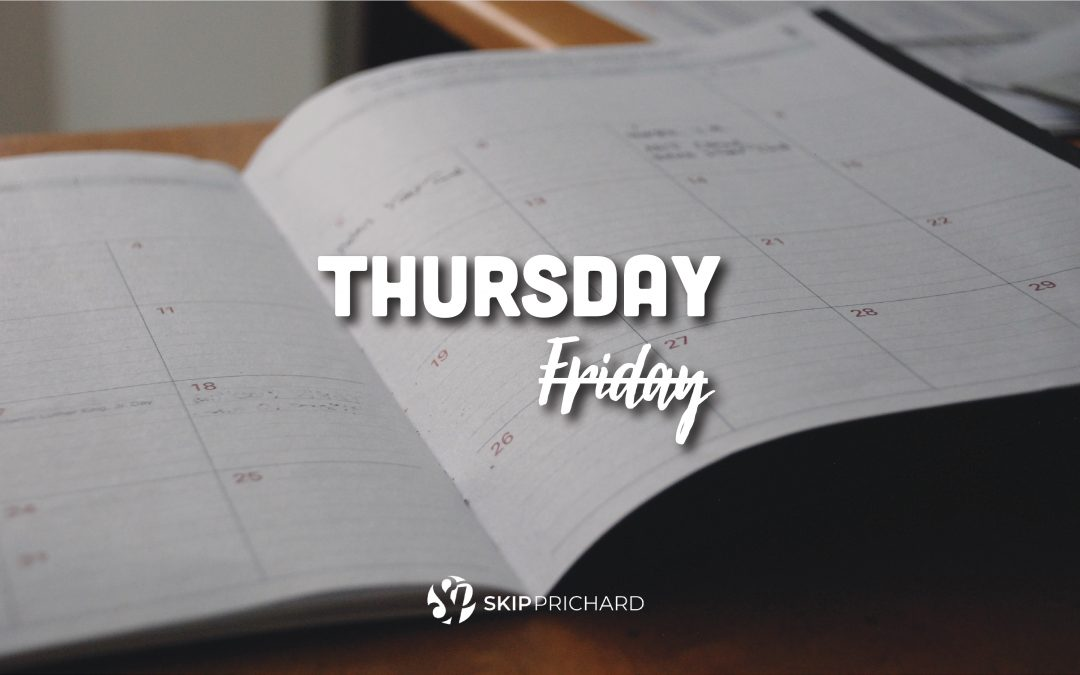 Thursday is the New Friday